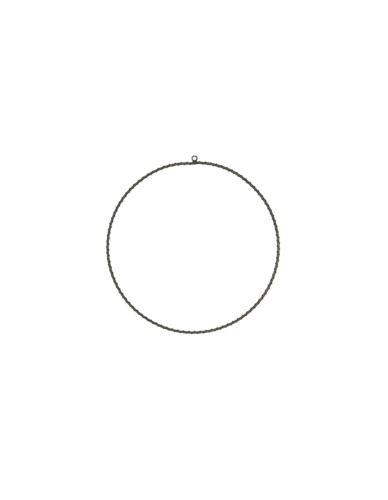 Metalowa obręcz splot D30cm