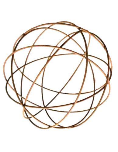Metalowa kula ażurowa D23 cm