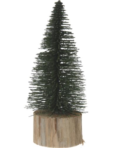 """Choinka """"Szczotka"""" 14 cm Zielona"""
