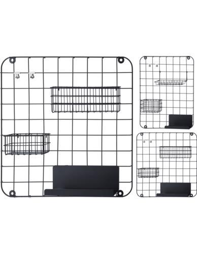 Organizer metalowy kwadrat/prostokąt
