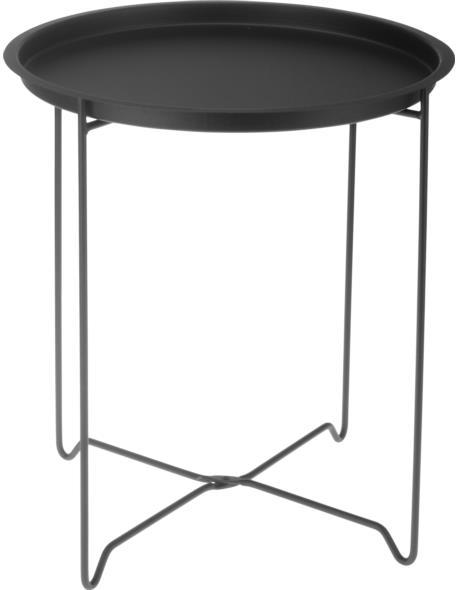 Stolik Metalowy czarny