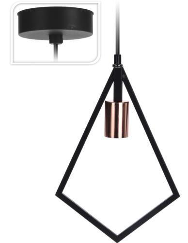 Lampa Sufitowa Metal Diament