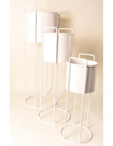 Osłonka Cylinder Metal/Drut na stojaku WH