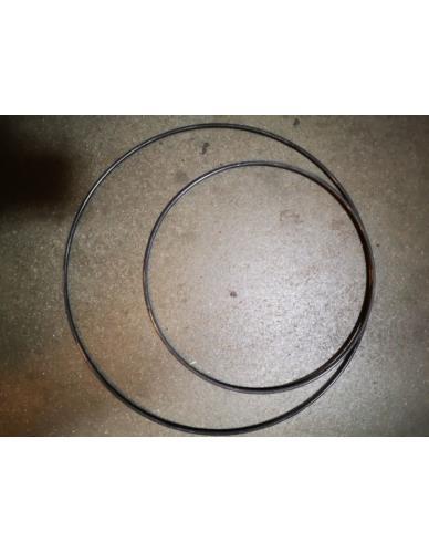 Obręcz metalowa szara D30cm