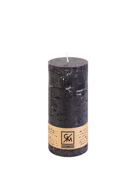 Świeca walec 150/70 mm czarna