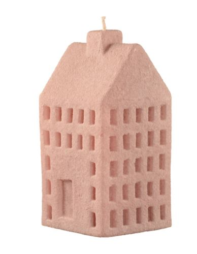 Świeca domek L cementowy