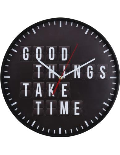 Zegar Ścienny D35 cm Napisl