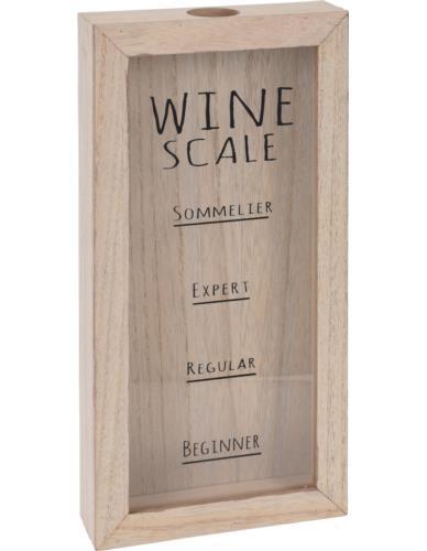 Skrzynka na korki od wina Drewno