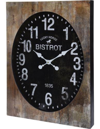 Zegar Ścienny w drewnianej ramie