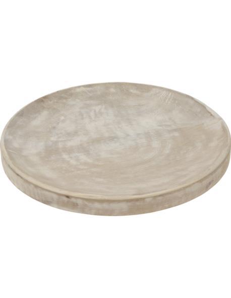 Podstawa Okrągła Drewno bielone D30cm