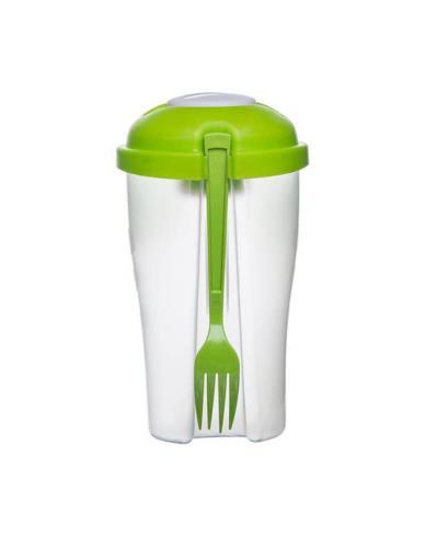 Pojemnik na sałatkę zielony 0,8 l