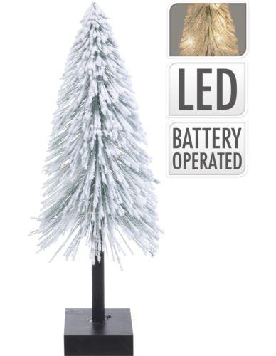 Choinka Ośnieżona na podstawie 40cm LED