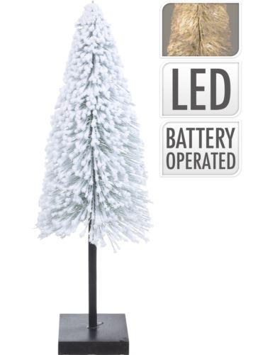 Choinka Ośnieżona na podstawie 60cm LED
