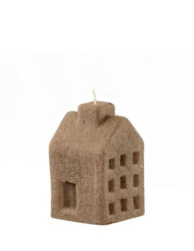 Świeca domek S cementowy