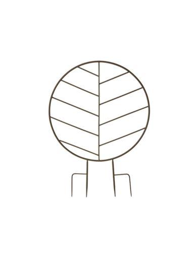 Metalowy wspornik dla roślin - Koło