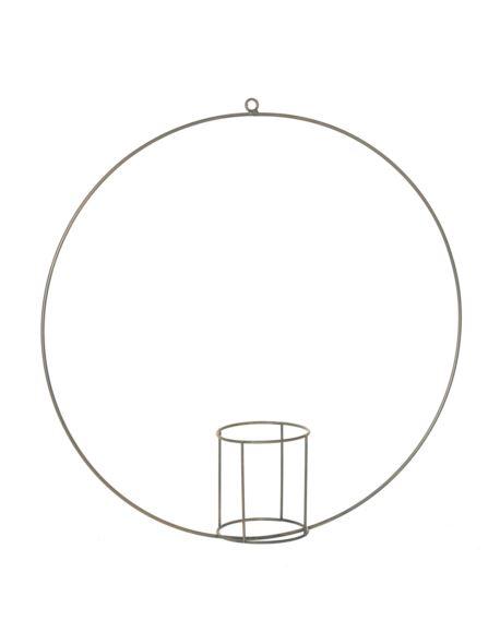 Obręcz metalowa ze szklanym wkładem