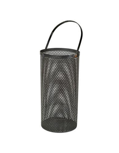 Lampion Metal Ażur 18xH37 cm