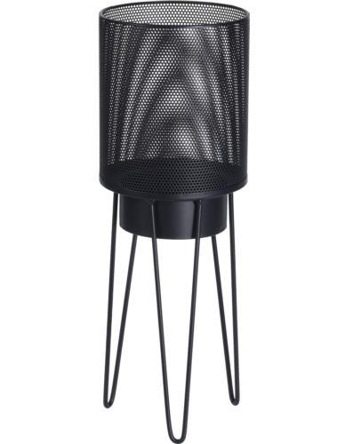 Lampion Metalowy na stojaku H38cm