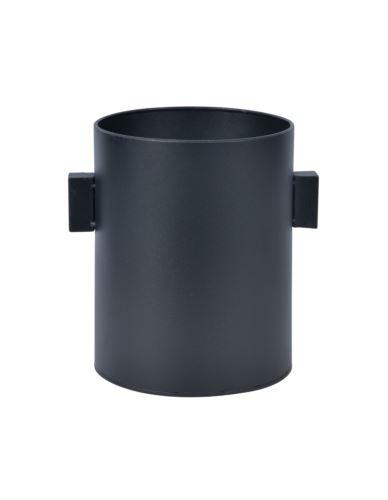 Osłonka metalowa czarna cylinder h24,5