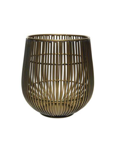 Lampion Drut Złoty Indie 12x13cm