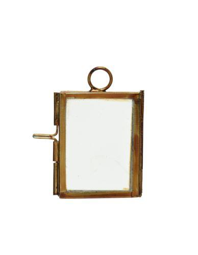 Ramka na Zdjęcie 4,5X6,5 cm Alu/Szkło Złoto