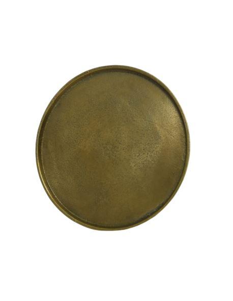 Podstawa Okrągła Alu złota D20cm