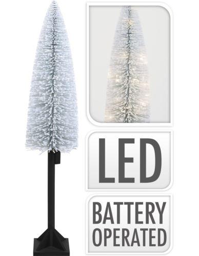 Choinka  ośnieżona H120 cm na nodze LED