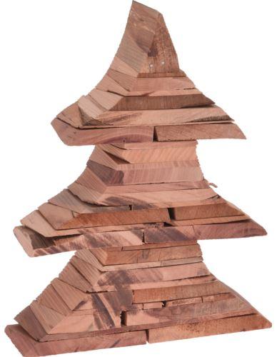 Choinka drewniana stojąca H25 x 5,5 cm