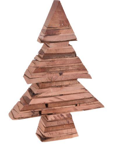Choinka drewniana stojąca H35 x 5,5 cm