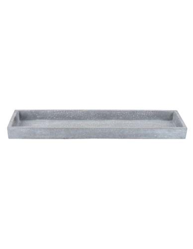 Podstawka/Taca betonowa błysk prostokąt