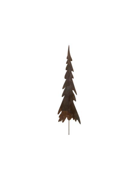 Choinka metalowa rdzewiona na piku_duża_H40cm
