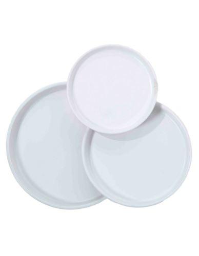 Talerz/Taca Biały Ceramika D29 cm