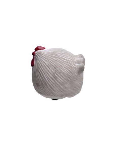 Kura cementowa z czerwonym grzebieniem mała