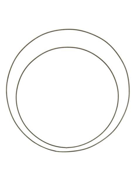 Obręcz metalowa czarna D50cm