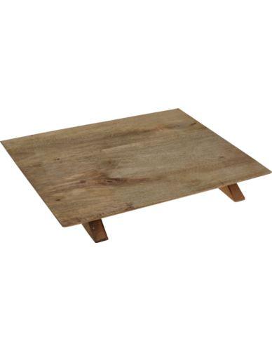 Deska Do Serwowania na nogach Mango 30X38 cm
