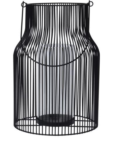 Lampion druciany z rączką H30 cm