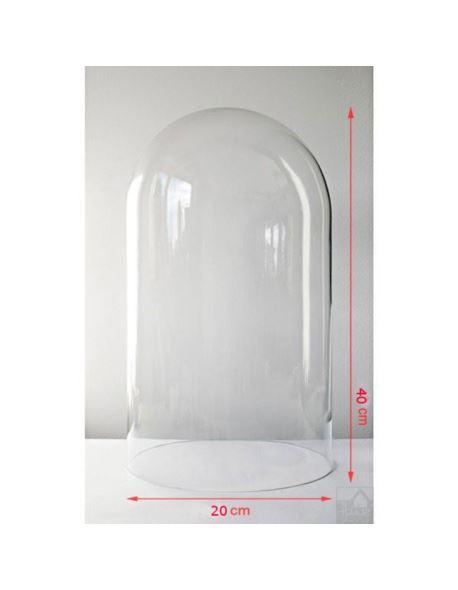 Klosz Szklany H40/D20 cm