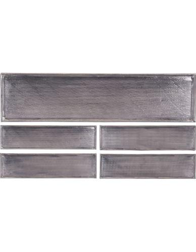 Taca Alumioniowa prostokąt 4 wzorki