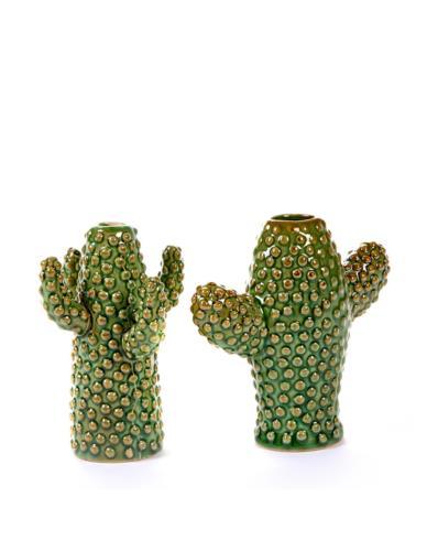 Wazon ceramiczny Kaktus Mini Zielony Serax