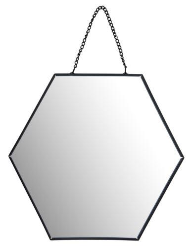 Lustro metalowe Hexagon