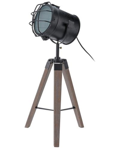 LAMPKA STOŁOWA HALOGENOWA 3 NOGI H64CM