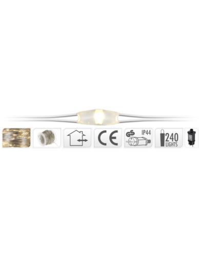 Drucik srebrny 240 LED